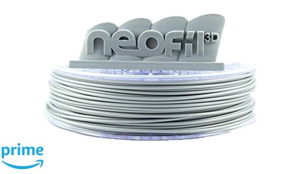 Neofil3D PLA285SI10750G PLA Filamento para impresora 3D, 2,85 mm ...