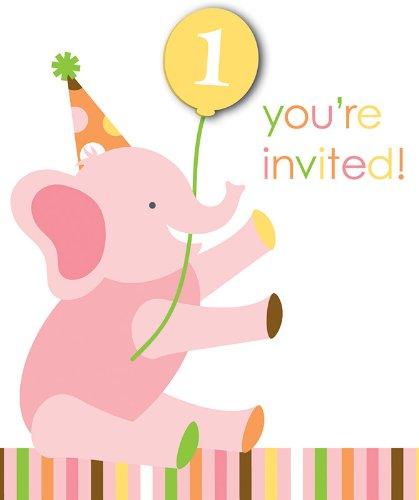 Creative Converting Sweet Birthday Invitations