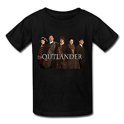 ZHENGMAO Kid's Outlander Poster T-shirt