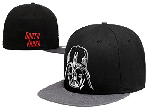 XCOSER Darth Vader And Stormtrooper Cosplay Baseball black Hats for SW cosplay BBoy Cap hot sale (Darth Vader Costume For Sale)
