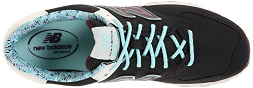 New Balance Mens ML574 Luau Collection Running Shoe, Navy, 13 D US Nero (nero)