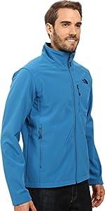 The North Face Men's Apex Bionic 2 Jacket Banff Blue/Banff Blue Outerwear SM