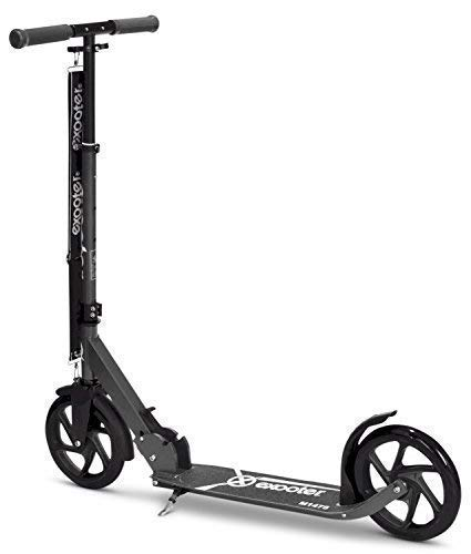 Amazon.com: EXOOTER M1475CH 5XL Teen Cruiser Kick Scooter with 200mm Big Wheels in Charcoal.: Toys & Games