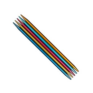 Set of 5; 2.75mm addi FlipStix Double Pointed Knitting Needles 6-inch 15cm