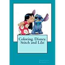 Coloring. Disney. Stitch and Lilo