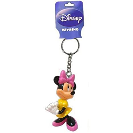 Minnie Mouse Key Chain - Disney Llavero: Amazon.es: Coche y moto