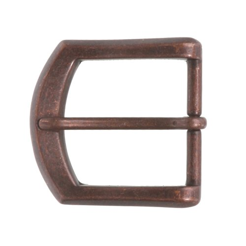 "1 1/2"" (38 mm) Single Prong Horseshoe Belt Buckle, Copper from beltiscool"