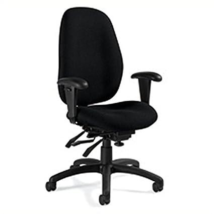 Amazon.com: Global Malaga High Back Multi Tilter Chair in ...