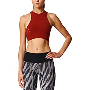 adidas Womens Training Warpknit Crop Tee