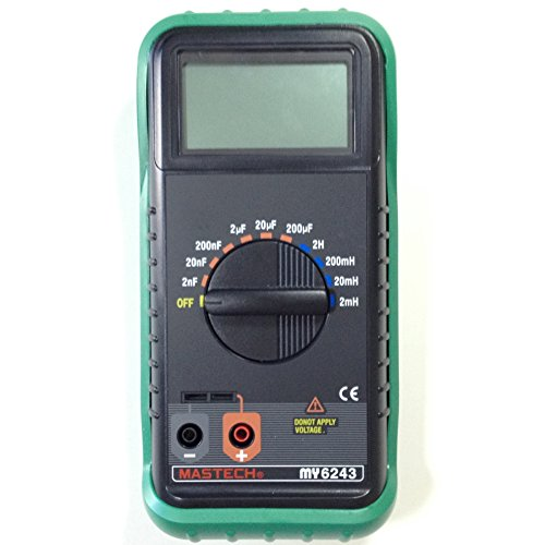 Mastech MY6243 LCR Digital Multimeter, Capacitance and Inductance Tester