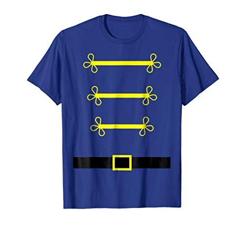 Toy Soldier Nutcracker costume uniform Shirt Christmas Gift ()