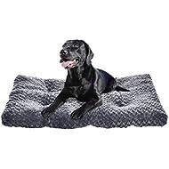 AmazonBasics Pet Dog Bed Pad - 40 x 27 x 3.5 Inch, Grey Swirl