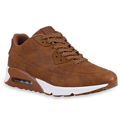 Uomo 40 Eu Sneaker Marrone Stiefelparadies marrone 5AgYzWq