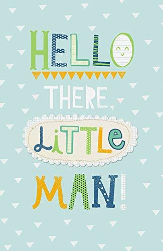 hello there little man birth congrats new baby boy card congratulations