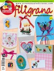 Revista Manualidades Crea Tu Propio Proyecto -161 FILIGRANA-