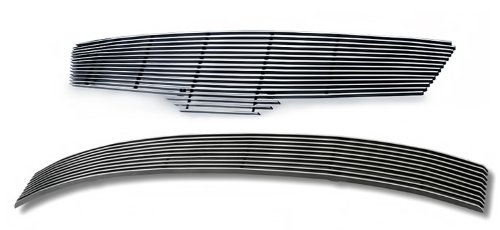 07-09 Nissan Altima Sedan Billet Grille Grill Combo Insert # N87765A (2007 Nissan Altima Chrome Grill compare prices)