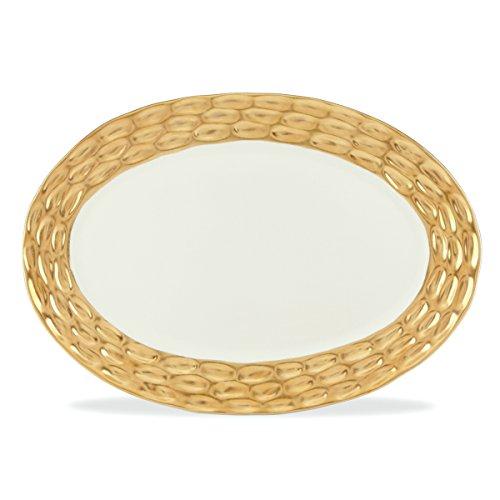 Michael Wainwright Truro Gold Oval Platter 17 In X