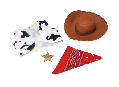 Cowboy Costumes Toddler (Woody Accessory Kit Toddler Costume Set)
