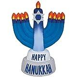 Gemmy Industries Hanukkah Menorah Christmas Inflatable Plastic