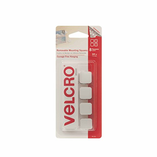 VELCRO Brand - Removable Mounting Squares - 8 ct