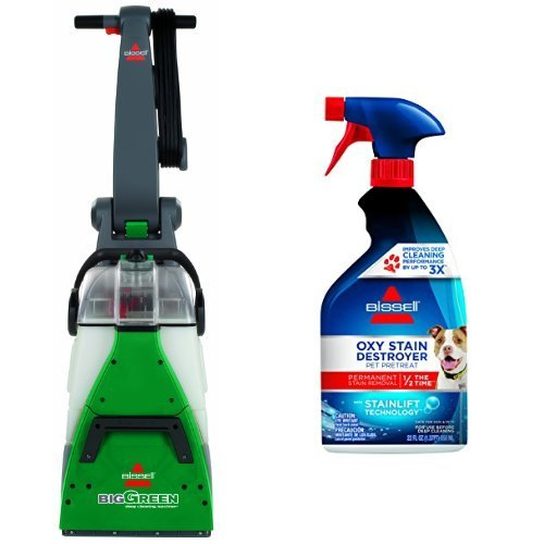 Stain Pre Cleaner (Permanent Pet Stain Remover Bundle - Big Green + Bissell Oxy Stain Destroyer Pet Pre-treat)
