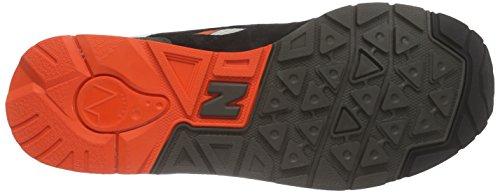 New Balance Cw1600 - Zapatillas Hombre Mehrfarbig (Black/White/Red)