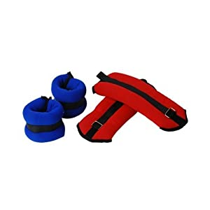 Valor Fitness EH 36 Ankle Wrist Weights Set, 2 3 Pound