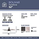 Prominence Home 80099-01 Bolivar LED Ceiling