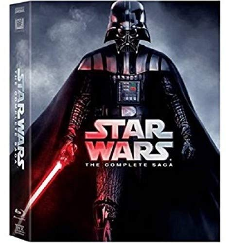 Star Wars: The Complete Saga (Episodes I-VI) (Packaging May Vary) [Blu-ray] (Star Wars Complete Saga Blu Ray Theatrical Release)