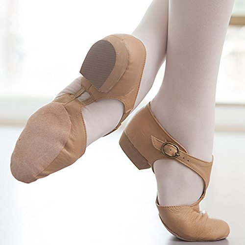 marron marron marron Trente-sept Wuyulunbi@ Chaussures de danse jazz