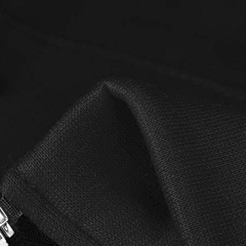 Incappucciato Accogliente Cappotto Spesso Outerwear Chic Con Libero Autunno Cappuccio Cute Eleganti Invernali Mantello Cerniera Schwarz Fashion Giacca Donna Tempo Manica Velluto A Vintage Lunga Chiusura xOqBUII