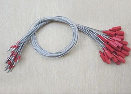 Easy Locking Cable Seal Logistics Plastic Seals Steel 10pcs Low Carbon Steel, Galvanized Abs Outsourcing