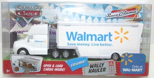 Amazon Disney Cars Wally Walmart Wal Mart Hauler Truck 155 Scale Mattel Race O Rama Edition Toys Games