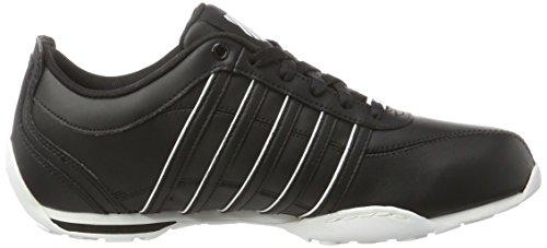 K-Swiss 02453, Zapatillas Hombre Negro (BLACK/WHITE)