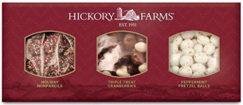 - Hickory Farms Sweet Treats Holiday Trio Stocking Stuffer!