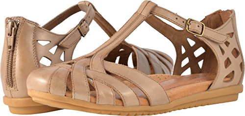 Rockport Cobb Hill Women's Ireland CH Dress Sandal, Khaki, 7.5 N US]()