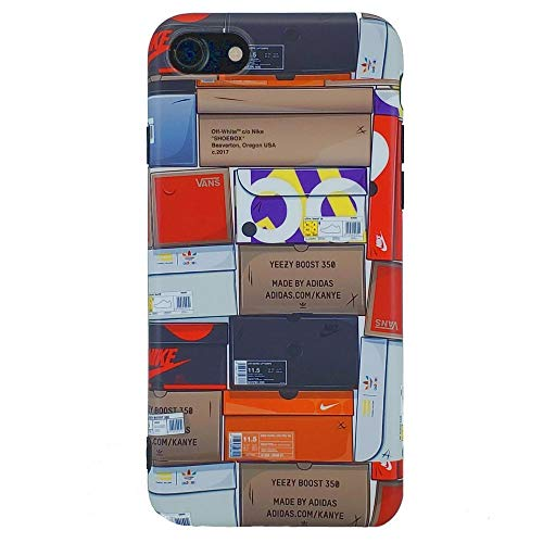Sneakerhead Shoebox Collection - TPU Flexible Plastic Protective Case/Cover/Skin/Bumper for iPhone (iPhone 7+/8+)