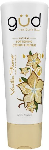 Gud Vanilla Flame Natural Softening Conditioner, 12 Fluid Ounce, by Gud (Pack of 2)
