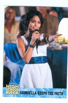 9a0334094f1 Image Unavailable. Image not available for. Color  Vanessa Hudgens trading  card High School Musical 2006 Topps  45 Gabriella Montez