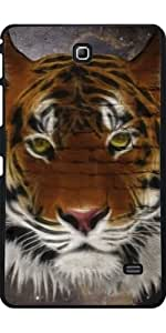 Funda para Samsung Galaxy Tab 4 (7 pulgadas) - Tigre Abstracta