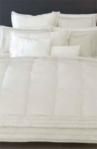 Amazoncom Donna Karan Modern Classics Fullqueen Silk Quilt White - Donna-karans-modern-classics-bedding-collection
