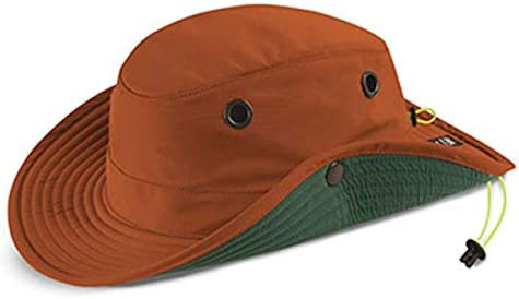 0812eddf Amazon.com: Tilley TWS1 Paddlers Hat - Men's Orange 7-1/2: Sports & Outdoors