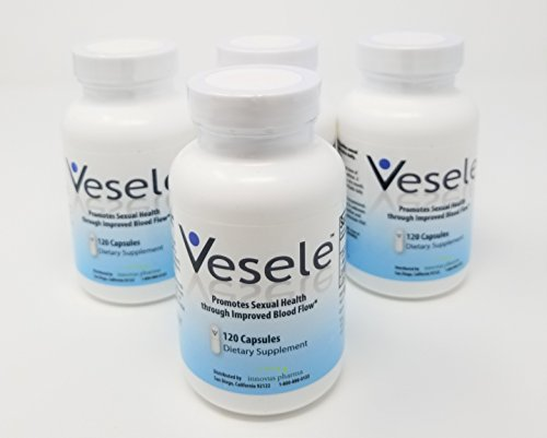 Vesele | Promotes Healthy Blood Flow | Dietary Supplement | 1500mg Proprietary Blend of L-Citrulline, L-Arginine, BioPerine® (piperine extract) (4) by Vesele®