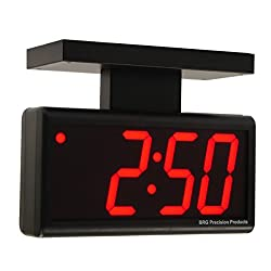 Double-sided 4.0 Red 4 Digit LED PoE Digital Wall Clock