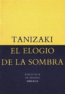 El elogio de la sombra par Tanizaki