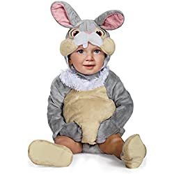 Disguise Baby Thumper Deluxe Infant Costume, Gray, 6 to 12 Months