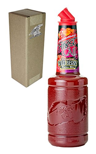 [Finest Call Premium Wild Berry Puree Drink Mix, 1 Liter Bottle (33.8 Fl Oz)] (Yield Sign Halloween Costume)