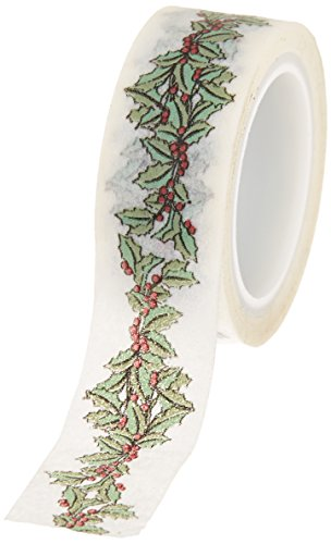 Carta Bella Paper Company Christmas Wonderland Holly Berry Decorative Tape
