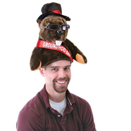 Groundhog Costumes (Plush Groundhog Day Hat)