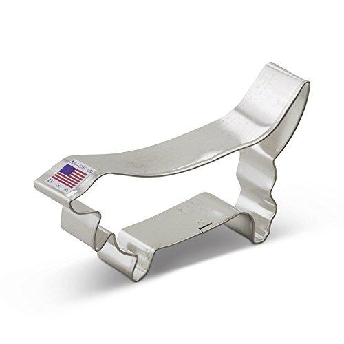 UPC 871458008326, Ann Clark Basset Hound Cookie Cutter - 4.5 Inches - Tin Plated Steel